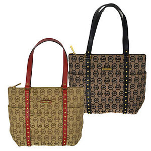 Michael-Kors-Handbag-Jet-Set-Stud-Large-Top-Zip-Tote-Purse-Bag-38s4xpjt3q-New
