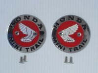 Honda Mini Trail Z50a Ko-k1 Gas Tank Badges/emblems