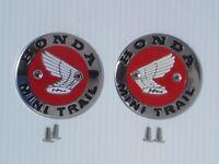 Honda Mini Trail Z50a Ko-k1 Gas Tank Badges/emblems