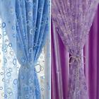Fashion Voile Door Window Curtain Room Sheer Drape Panel Scarf Sheer Valance