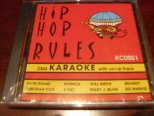 HIP HOP RULES KARAOKE DISC KC0001 CD+G RAP MULTIPLEX SEALED