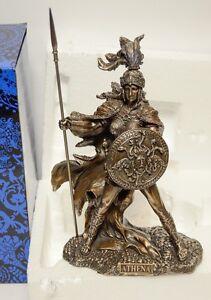 Studio Collection Veronese Design Athena Goddess Of War Resin Statue