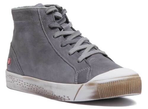 Details about  /Softinos Isleen Kip 405 Women Soft Leather Ankle boots In Grey Size UK 3-8