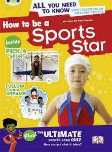 How-to-be-A-Sports-Star-NF-Brown-A-3C-BUG-CLUB-by-Mason-Paul-NEW-Book-FREE