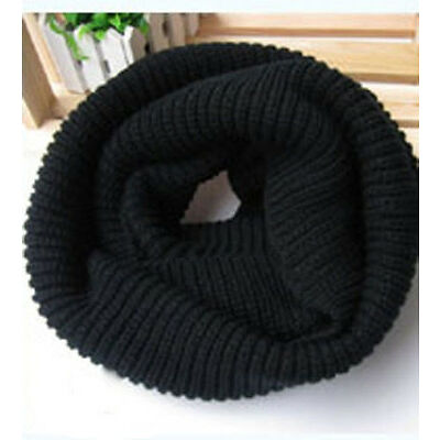 Winter Warm Infinity Eternity Loop Knit Cowl Circle Scarf Neckwarmer Shawl.