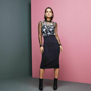 Coast-Black-Sian-Embroidered-Midi-Lace-Wedding-Cocktail-Pencil-Party-Dress-10-38
