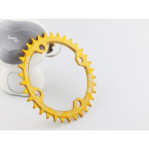 Accessories Chainwheel Aluminum alloy Oval Bike Sports Outdoor Practical