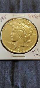 1935  KM#150  Peace Silver Dollar  'Polished'