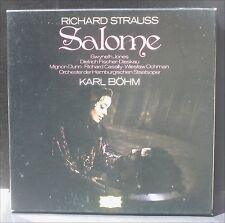 Richard Strauss Salomé Karl Böhm Gwyneth Jones LP & BX EX