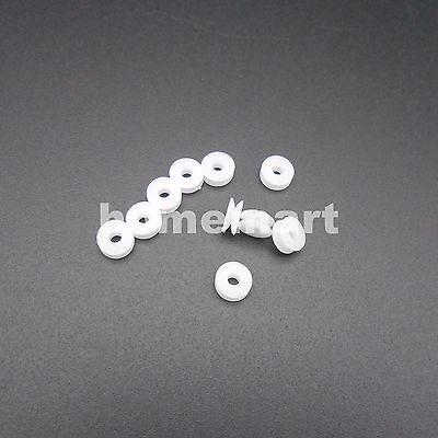 10PCS 5.8MM Plastic Pulley Gear Model Motor Wheels dia.5.8mm Shaft dia.2mm 1.95M
