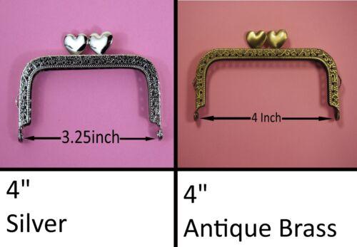 Sac à main fermoirs différentes formes et tailles kiss serrure cadre métal mixte poignée findings