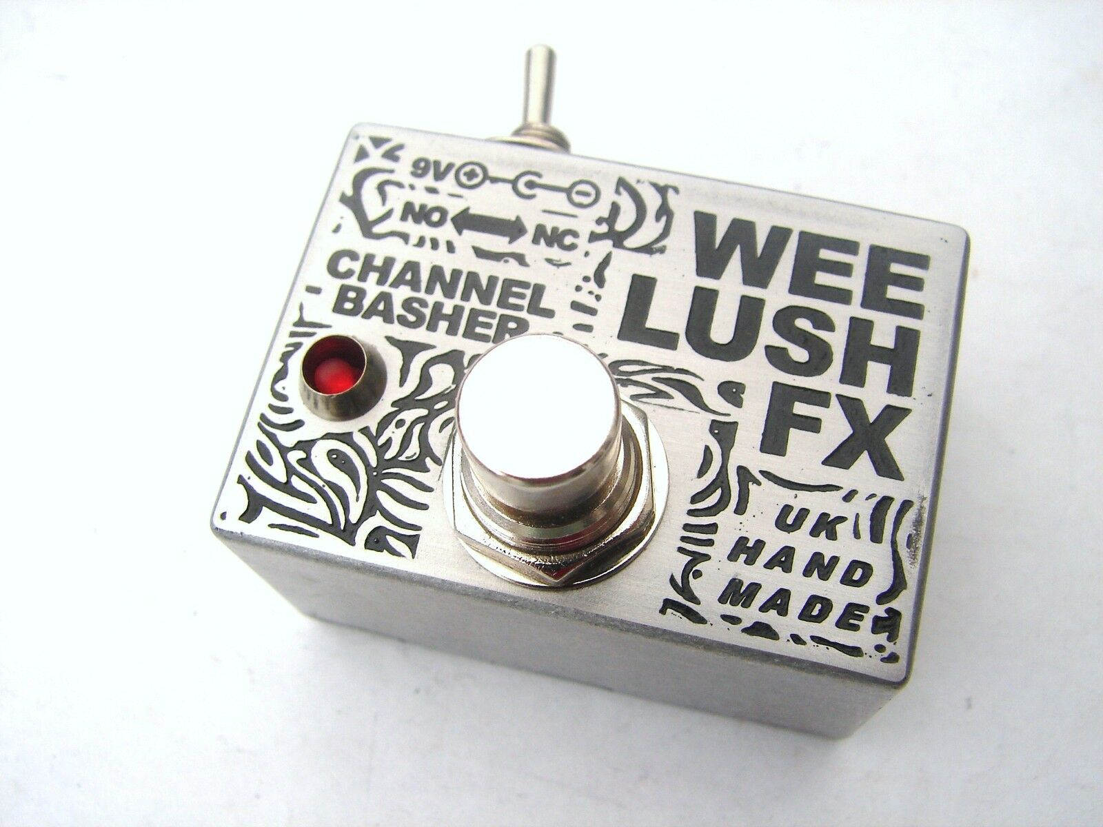 Wee Lush FX Channel Amp Switcher Selector Effects Pedal Switch Box Footswitch