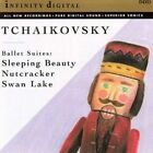 Tchaikovsky Ballet Suites Sleeping Beauty Nutcracker Swan Audio CD