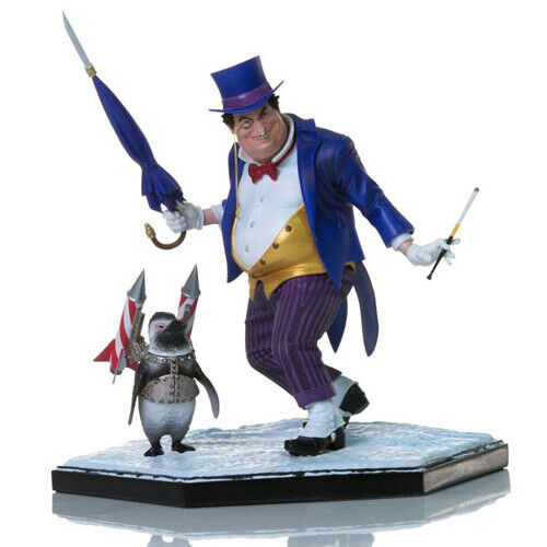 Dc Comics - The Pinguin 1 10 Polystone Statuen Iron Studios