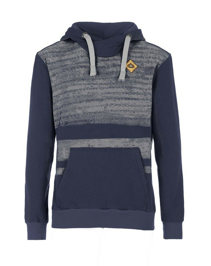 E9 Tape Hoody Sweater for Men from Cotton blueenavy