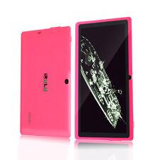 """iRULU 7""""16GB Tablet Google Android 4.4  Dualkamera Wlan 1024x600 HD Pink Neu"""