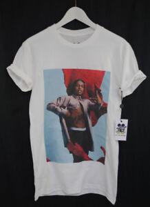 c6f6e780154a Actual Fact T-Shirt Asap Rocky Red Flag Rap Hip Hop Tee Clothing