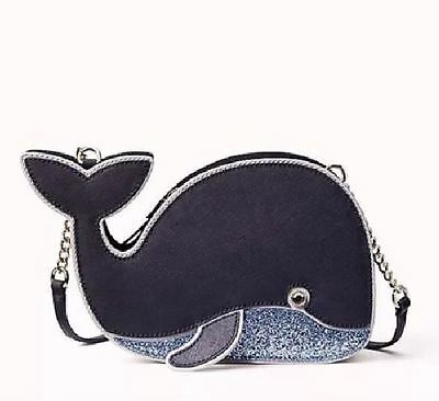 KATE SPADE Off We Go Whale Crossbody Purse WKRU4247 $249 NWT
