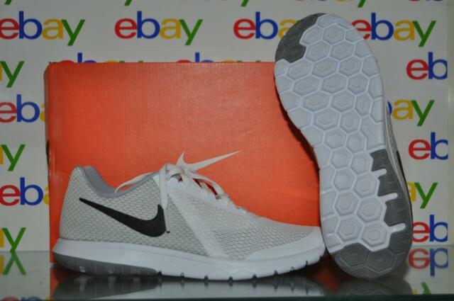 a5a0226c26972 Men s Nike Flex Experience RN 6 Running Shoe White Black Wolf Grey 7 ...