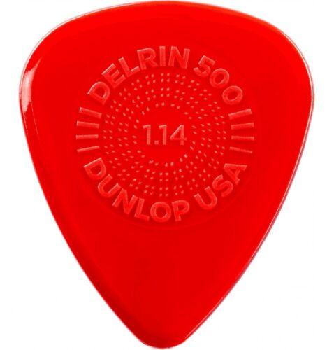 Dunlop 450R114 1.14 mm Médiator Delrin 500 Prime Grip