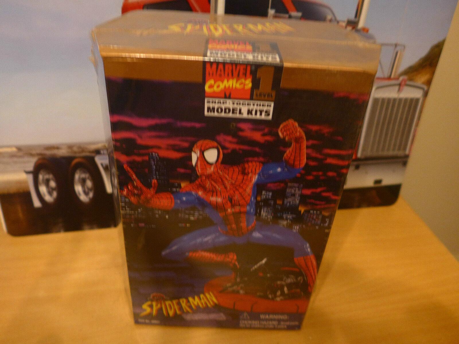 Marvel Comics Spider-uomo  snap together modellolo kit kit kit Level 1 sealed in scatola 849bb9
