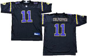 Reebok-NFL-Men-039-s-Minnesota-Vikings-Daunte-Culpepper-11-Football-Jersey-Black