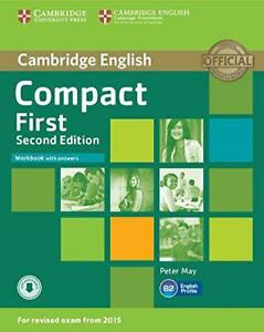 Compact-First-Workbook-with-Answers-with-Audio-by-May-Peter-Paperback-Book