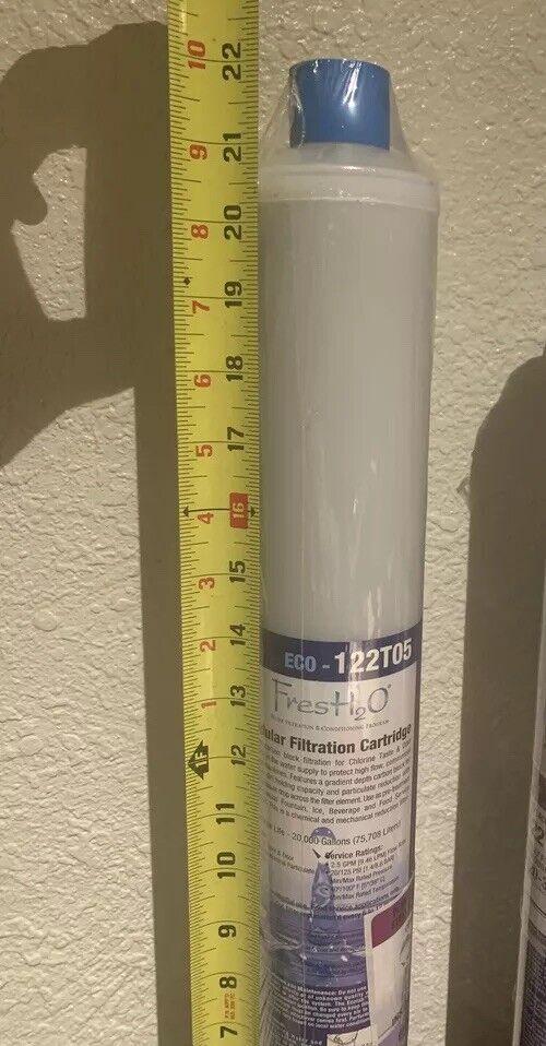 Ecolab ECO 122T05 Fresh H2O Filtre à Eau Cartouche de remplacement 22