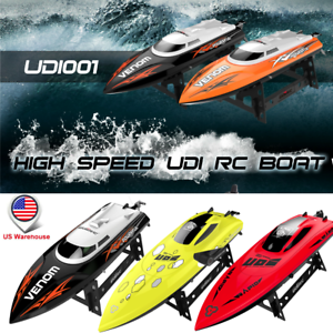 Details about UDI RC Boat 2 4GHz Electric High Speed Remote Control Racing  Boat for Adult Kids