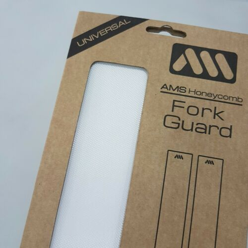 All Mountain Style AMS Honeycomb Universal Fork Guard Clear Transparent