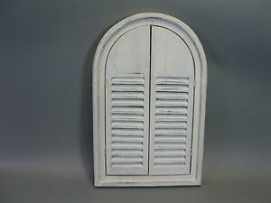 Espejo-de-Pared-de-Madera-con-Contraventanas-Viejo-Blanco-58cm-X-38cm