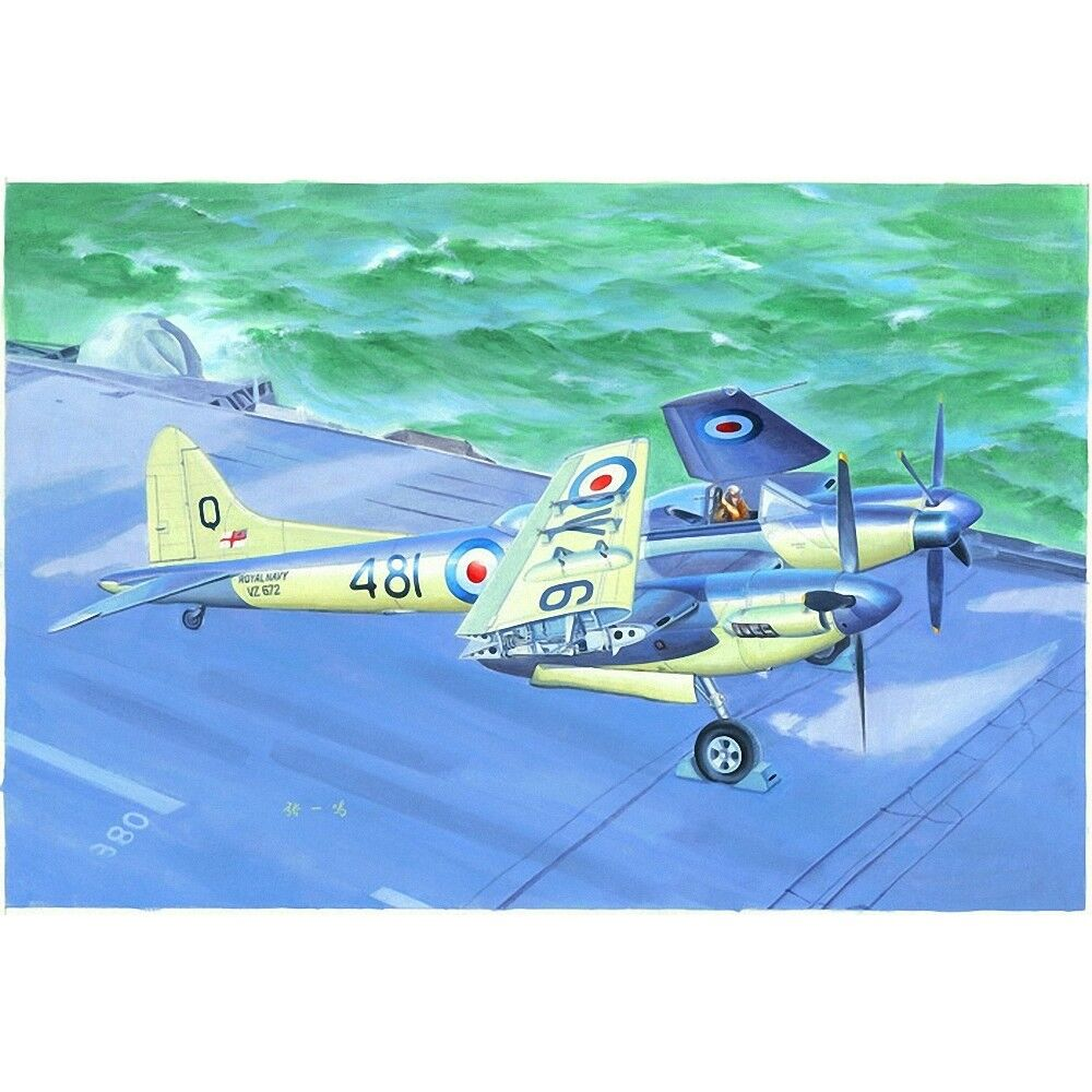 Trumpeter 1 48 - De Havilland Sea Hornet Nf.21 - 148 Model Kit Nf21 02895
