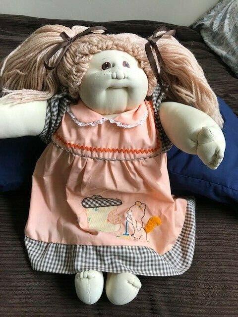 Jahr 1978-1982 Original Cabbage Patch Girl Doll w  original papers + receipt