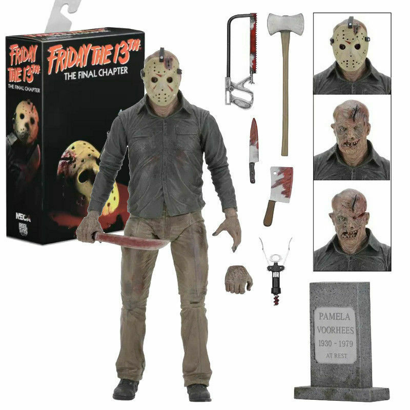 Friday Friday Friday The 13th Part 4 The Final Chapter - Jason Voorhees Ultimate Figurine 5b4b07