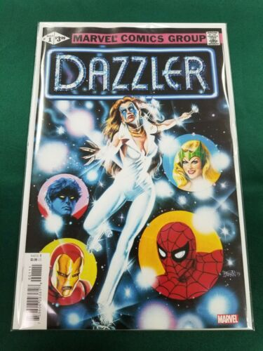DAZZLER 1 FACSIMILE EDITION VARIANT Marvel Comics 2019 NM+