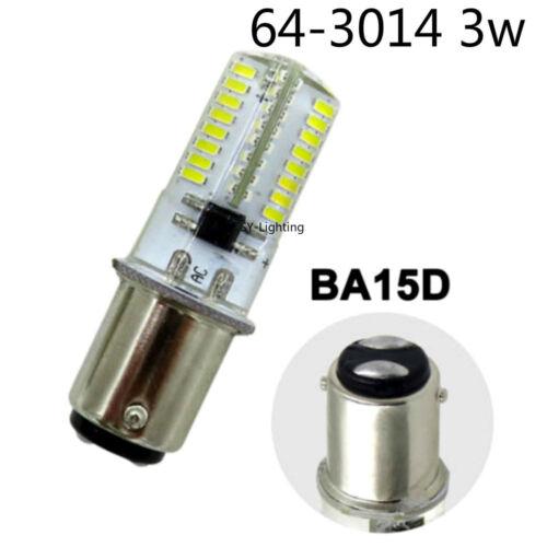 BA15D B15 3W 4W 5W 64//72//80LEDs SMD LED Bulb Fit Sewing machine Vacuum cleaner