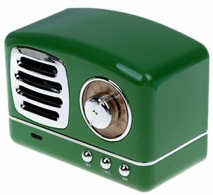 Time-Traveler-Green-Machine-Old-Time-Radio-w-10-000-vintage-programs-Bluetooth