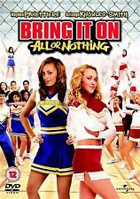 Bring It On All Or Nothing Hayden Panettiere, Francia Almendarez UK REGION 2 DVD