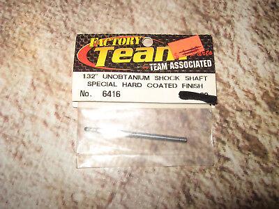 "6416 Vintage RC Associated 1.32/"" Unobtainium Shock Shaft Hard Factory 1"