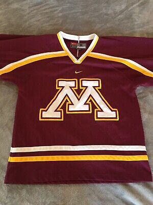 more photos fd858 33a16 minnesota golden gophers hockey jersey Nike Small Sweater | eBay