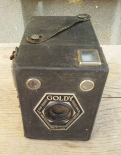 Ancien appareil à photo à chambre GOLDY, collection, old camera
