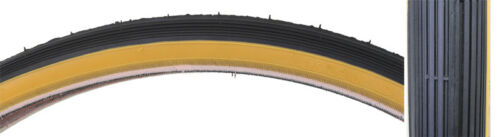 24 X 1 3/8 Tricycle Bike Tire Set Gum Wall 3 Tires + Tubes + Rim Strips