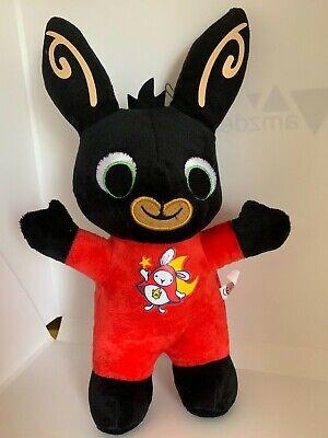 Compiacente Peluche Bing Bunny Tutina Pigiama Rosso Coniglio Nero Pupazzo Gioco In Italia Tv