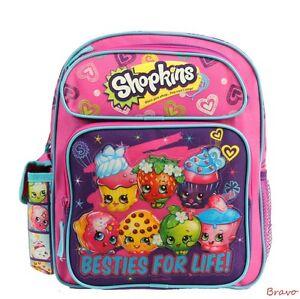 """Disney Shopkins  12"""" Toddler size Backpack Bag for Girls and unisex Kid>U.S SHIP"""