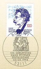 BRD 1994: Hans Pfitzner n. 1736 con potabile Bonner solo tag timbro! 1a! 1704