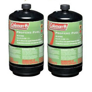 Coleman-Propane-Fuel-Twin-Pack-465g-Non-Refillable-Gas-Cylinder-Pack-of-2