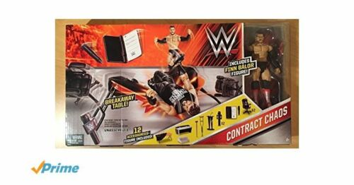 WWE Wrestling Ring//Entrance Playset//Contract Chaos//Tough Talkers Interactive NEW