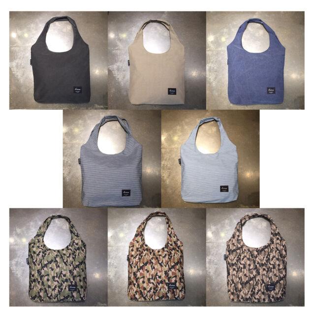 Korea Fashion U Washing Cotton Shoulder Tote Shopping Eco Bag Canvas Men Women
