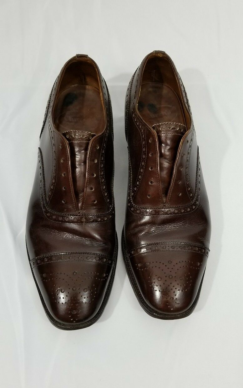 Church's -Custom Grade Leather Leather Leather Oxfords -Diplomat V- Made In England-UK Size 8D e0c06e