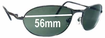 SFX Replacement Sunglass Lenses fits Dragon Calavera 66mm Wide